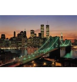 TOMAX TOM100-092 NEW YORK USA 1000 PCS PUZZLE GLOW IN THE DARK