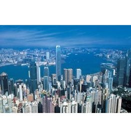 TOMAX TOM100-159 HARBOUR VIEW HONG KONG 1000 PCS PUZZLE