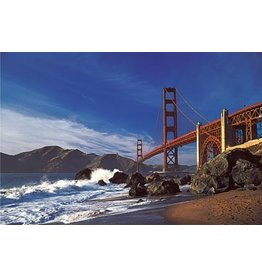 TOMAX TOM150-024 GOLDEN STATE BRIDGE SAN FRANCISCO 1500 PCS PUZZLE