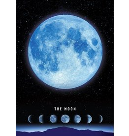 TOMAX TOM50-063 THE MOON 500 PCS PUZZLE GLOW IN THE DARK