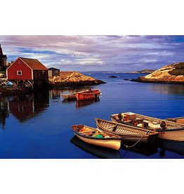 TOMAX TOM100-142 PEGGY'S COVE NOVA SCOTIA CANADA 1000 PCS PUZZLE