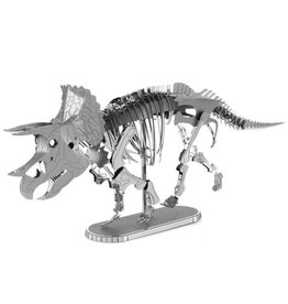METAL EARTH MMS101 TRICERATOPS SKELETON (2 SHEETS)
