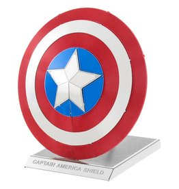METAL EARTH MMS321 CAPTAIN AMERICA'S SHIELD (2 SHEETS)