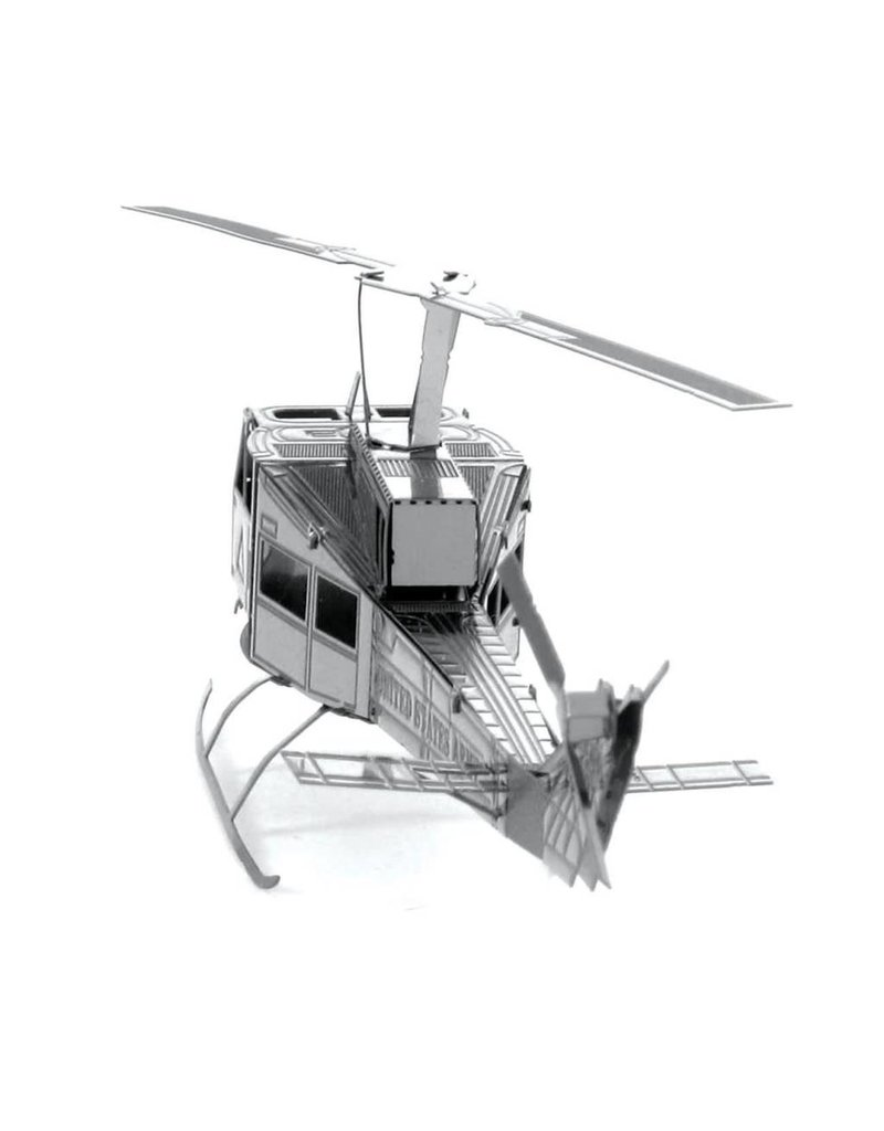 METAL EARTH MMS011 UH-1 HUEY HELICOPTER (1 SHEET)