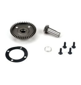 LOSI LOSB3534 FRONT/REAR DIFF RING & PINION:LST/2, XXL/2, LST 3XL-E