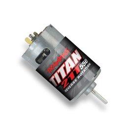 TRAXXAS TRA3975R MOTOR, TITAN 550, REVERSE ROTATION (21-TURNS/ 14 VOLTS) (1)
