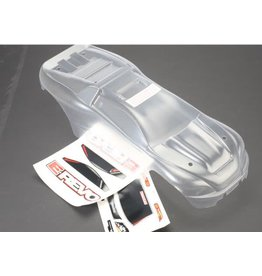 TRAXXAS TRA5611 BODY, E-REVO (CLEAR, REQUIRES PAINTING)/WINDOW, GRILL, LIGHTS DECAL SHEET