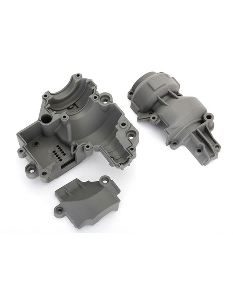 TRAXXAS TRA8591 GEARBOX HOUSING (INCLUDES UPPER HOUSING, LOWER HOUSING, &  GEAR COVER)