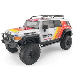 HPI RACING HPI117365 TOYOTA FJ CRUISER CLEAR BODY