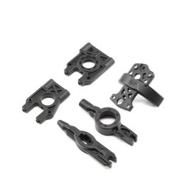 LOSI LOSA4420 CENTER DIFFERENTIAL MOUNT AND BRACE: 8B 2.0
