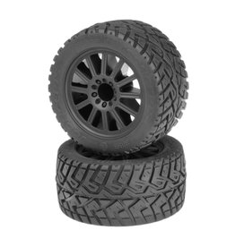 "JCONCEPTS JCO3056-3030 2.8"" G-LOCS TIRE AND WHEEL: YELLOW COMPOUND"