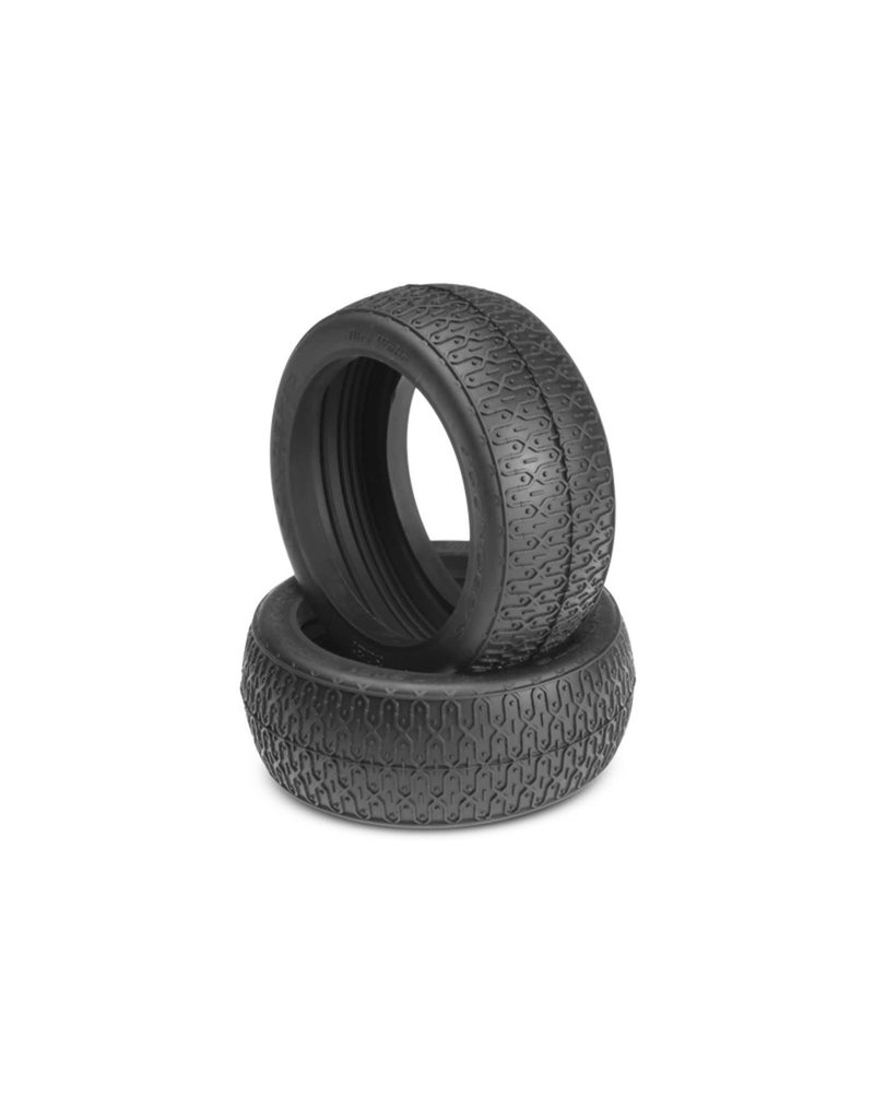 JCONCEPTS JCO3081-02 DIRT WEBS 1/8TH BUGGY TIRE: GREEN COMPOUND