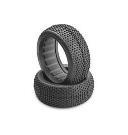 JCONCEPTS JCO3090-01 CHASERS 1/8TH BUGGY TIRE: BLUE COMPOUND