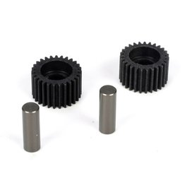 TLR TLR2966 IDLER GEAR/SHAFT (2): 22