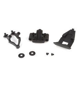 TLR TLR231022 FRONT PIVOT BUMPER AND WING SET: 22-4