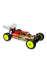 JCONCEPTS JCO0271 SILENCER CLEAR BODY: TLR 22-4 2.0