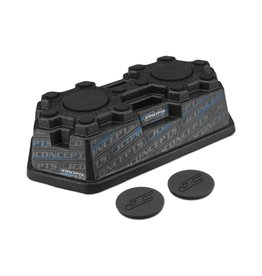 JCONCEPTS JCO2370M FINNISHER CAR STAND: MATTE BLACK