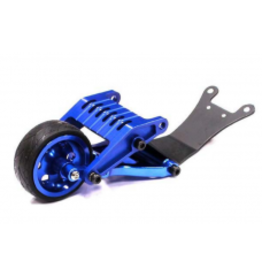 INTEGY INTT8003BL BILLET MACHINED WHEELIE BAR: BLUE