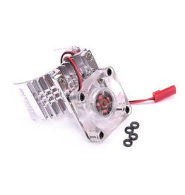 INTEGY INTT8074S MOTOR HEATSINK & COOLING FAN: SILVER