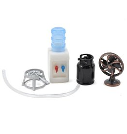 YEAH RACING YA0363 SCALE CAMPING SET W/ GAS BURNER, FAN, WATER COOLER