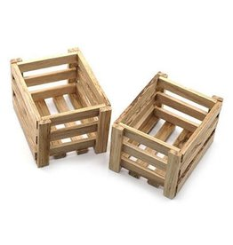 YEAH RACING YA0400 SCALE WOODEN CRATES