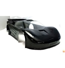 DELTA PLASTIK USA DP7500/2 MCLAREN GTR 1 SPEED RUN BODY: CLEAR