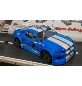 DELTA PLASTIK USA DP0175/1.5 MUSTANG SPEED RUN BODY: CLEAR