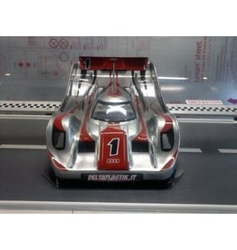 DELTA PLASTIK USA DP0167S R18 RALLY SPEED RUN BODY: CLEAR