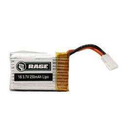 RAGE RGRA1163 1S 3.7V 250MAH LIPO: X-FLY