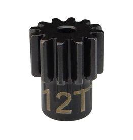 HOT RACING HRASDMD12M06 STEEL PINION 12T .6 MOD 2MM SHAFT