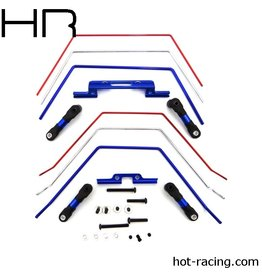 HOT RACING HRATE311SLC FRONT REAR WIDE SWAY BARS