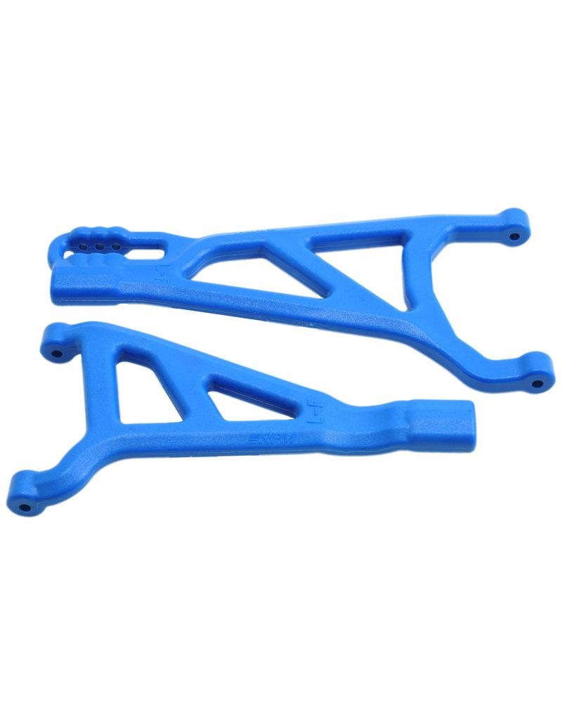 RPM RPM81515 FRONT LEFT A-ARMS: BLUE E-REVO 2.0