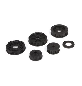 TLR TLR232024 DRIVE DIFFERENTIAL PULLEY SET: 22-4