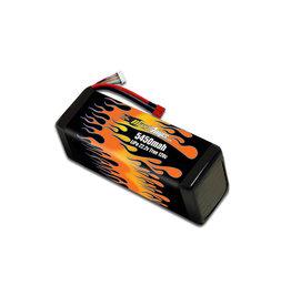 MAXAMPS BATTERIES MAXAMPS 6S LIPO 22.2V 5450MAH 120C WITH XT90