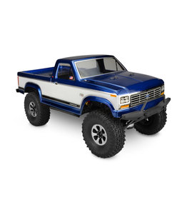 JCONCEPTS JCO0296 1984 FORD F150 TRAIL & SCALE CLEAR BODY