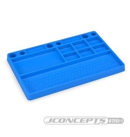 JCONCEPTS JCO2550-1 RUBBER PARTS TRAY: BLUE