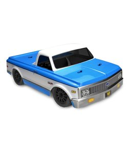 JCONCEPTS JCO0267 1972 CHEVY C10 CLEAR BODY: SLASH