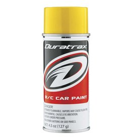 DURATRAX DTXR4295 PC295 POLYCARB SPRAY 4.5 OZ: CANDY YELLOW