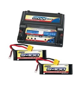DURATRAX DTXP4618 ONYX 245 & 6S BATTERY POWER COMBO PACK