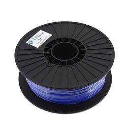 PUSH PLASTIC LCC PSH1005 3D PRINTER PLA FILAMENT: GLOW ULTRA BLUE
