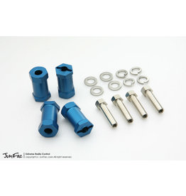 JUNFAC JUN51033 2.2 WHEEL WIDENERS (4) OFFSET + 19MM