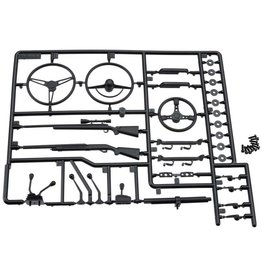 AXIAL AX80037 INTERIOR DETAIL PARTS