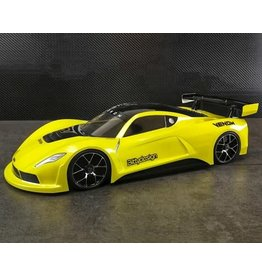 BITTYDESIGN BDYGT-190VNM 1/10 VENOM GT CLEAR BODY 190MM