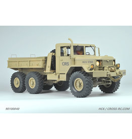 CROSS RC CZRHC6 HC6 1/10 6X4 SCALE OFF ROAD MILITARY TRUCK KIT