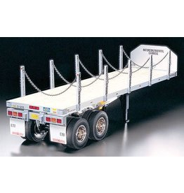 TAMIYA TAM56306 1/14 FLATBED SEMI TRAILER KIT
