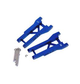 STRC ST2555B ALUMINUM REAR A-ARMS FOR TRAXXAS SLASH BLUE