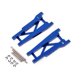 STRC ST3655B ALUMINUM REAR A-ARMS FOR STAMPEDE/ RUSTLER BLUE