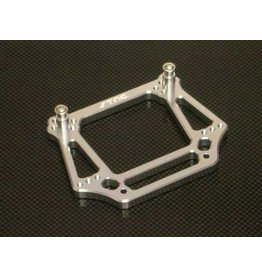 STRC ST3639S FRONT HD SHOCK TOWER SILVER FOR STAMPEDE
