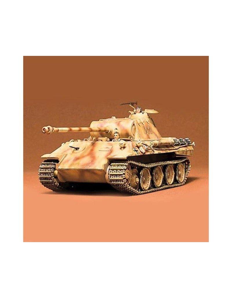 TAMIYA TAM35065 1/35 GERMAN PANTHER TANK PLASTIC MODEL