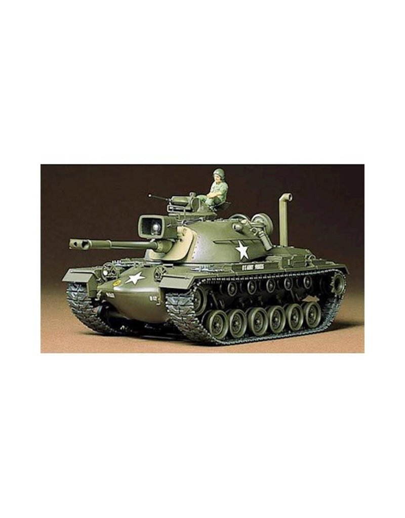 TAMIYA TAM35120 1/35 US M48A3 PATTON TANK PLASTIC MODEL
